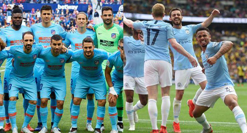 Atlético y Manchester City será protagonistas en materia de fichajes. (Fotos: Getty)