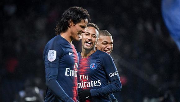 Mbappé llegó al PSG en la temporada 2017/18. (Getty)