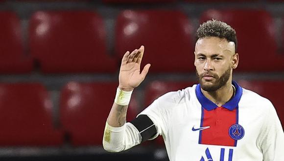 Neymar se perderá la final de la Copa de Francia. (Foto: AP)