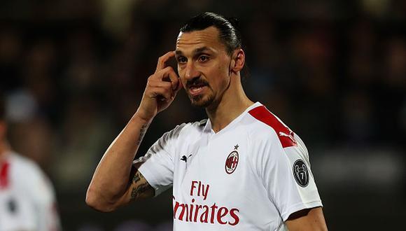 Zlatan Ibrahimovic llegó al AC Milan esta temporada proveniente de Los Angeles Galaxy de la MLS. (Foto: Getty Images)