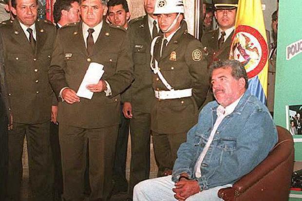 Jose Santacruz Londono murió el 5 de marzo de 1996 (Foto: Javier Casella/Min Defen / AFP)