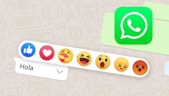 Mira el espectacular truco para tener las reacciones de Facebook dentro de WhatsApp Web. (Foto: Depor)