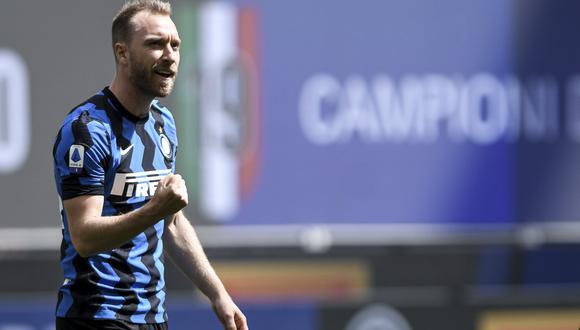 Christian Eriksen jugó en el Tottenham antes de fichar por el Inter de Milán. (AP)
