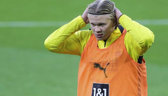Erling Haaland llegó a Borussia Dortmund en la temporada 2020. (Foto: AP)
