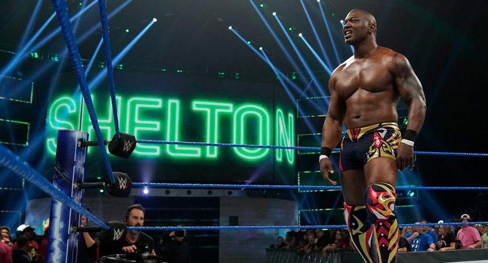 En su primera etapa en WWE, Shelton Benjamin ganó el título intercontinental, el de los Estados Unidos y el de parejas. (Foto: WWE)