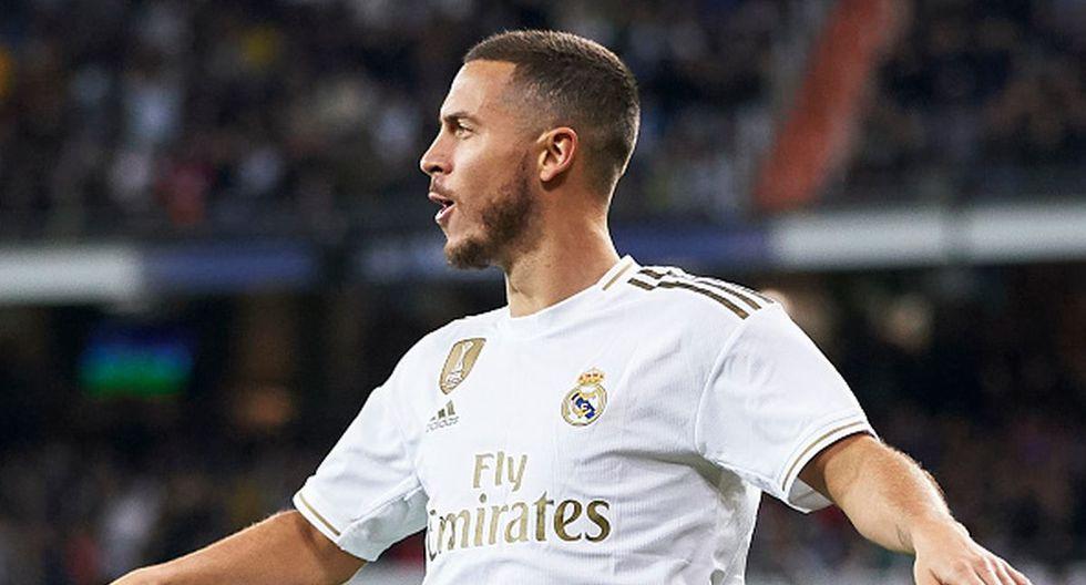 Eden Hazard tiene contrato con Real Madrid hasta mediados de 2024. (Foto: Getty Images)