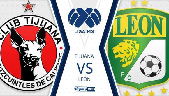 Tijuana y León quieren volver a la senda del triunfo. (Foto: Depor)