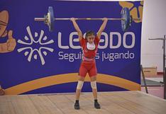 Katerin Olivera y Zayuri Sullca destacan en el Campeonato Nacional Sub 17 de Pesas