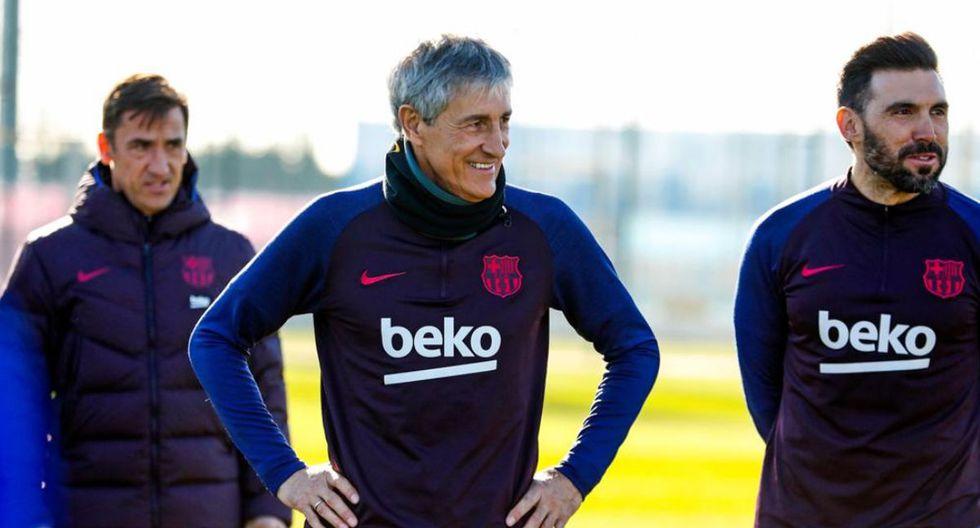 Quique Setién firmó con el FC Barcelona hasta el 2022. (Foto: FC Barcelona)