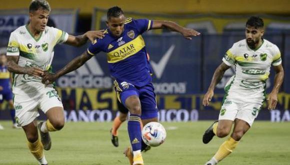 Boca Juniors derrotó por 2-1 a Defensa y Justicia por la Copa de la Liga Profesional 2021. (Foto: Twitter)