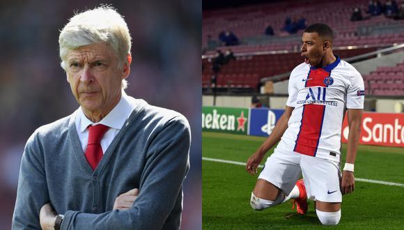 Wenger trató de convencer a Mbappé para que ser jugador del Arsenal. (Foto: Getty)