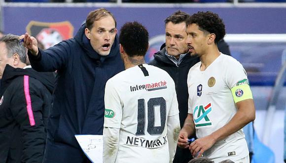 Neymar tiene contrato en el PSG hasta mediados de 2022. (Foto: Getty Images)