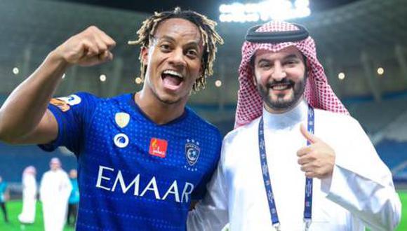 André Carrillo figura entre los mejores de la liga de Arabia Saudita. (Foto: Agencias)