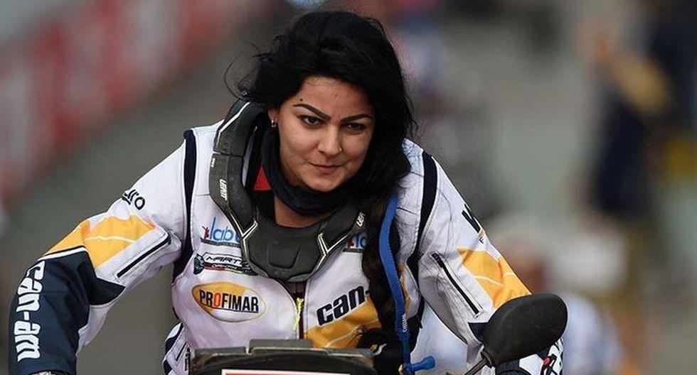 Suany Martinez iba a participar en el Dakar 2019 con el número 274 en la categoría cuatriciclos. (AFP)