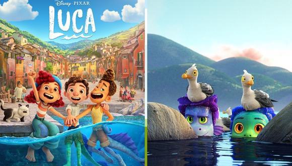 """""""Luca"""" contará la historia de tres peculiares amigos en un pueblo italiano . (Foto: Difusión / Disney)"""