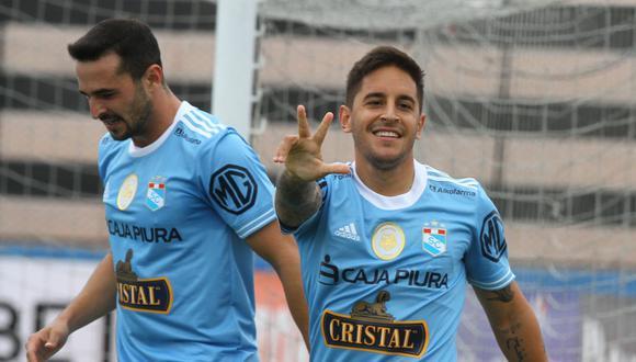 Alejandro Hohberg apunta a marcar su primer gol en esta Copa Libertadores. (Foto: Liga 1)