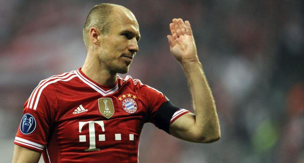 Arjen Robben - 15 goles