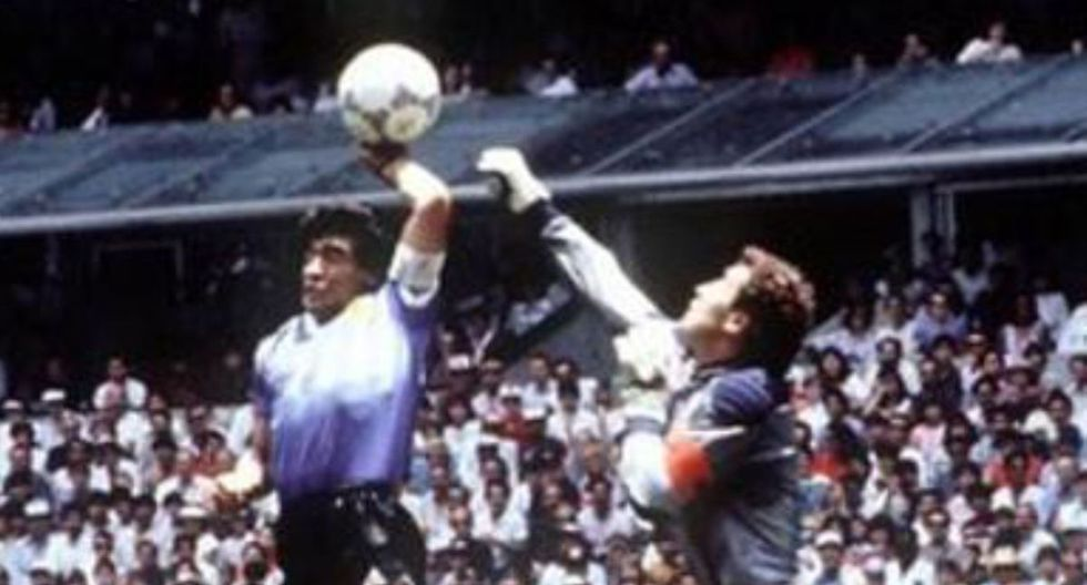 El gol de Diego Maradona a Inglaterra es una de las jugadas históricas del fútbol. (Foto: Difusión)