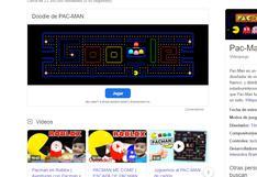 Juegos gratis: juega Pac-Man, Snake y Tres en raya de forma online con Google Chrome
