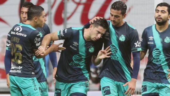 Puebla venció a Monterrey por el repechaje del Apertura 2020 Liga MX. (Puebla)