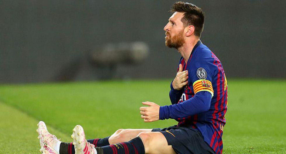 Lionel Messi pone el nombre de un argentino en la agenda del Barcelona. (Getty)