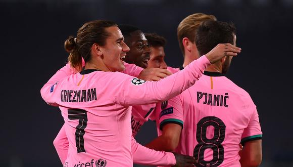 Barcelona vs Juventus se enfrentaron por fecha 2 de Champions League. (Foto: AFP)