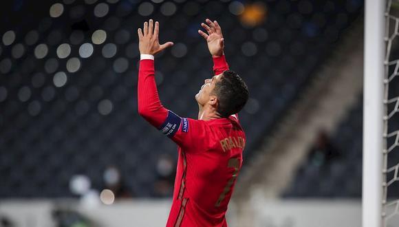 Cristiano Ronaldo dio positivo a coronavirus antes de enfrentar a Suecia. (Foto: EFE)