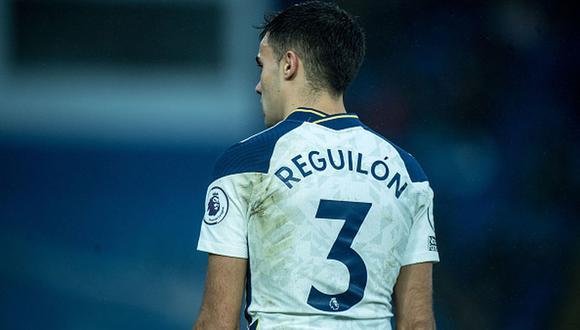 Sergio Reguilón fue traspasado de Real Madrid a Tottenham por 35 millones de euros. (Getty)