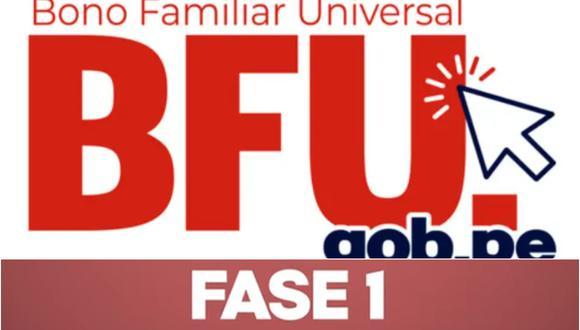 BFU Bono Universal de S/ 760: modalidades de pago, cronograma y cómo cobrar el subsidio. (Foto: Difusión)