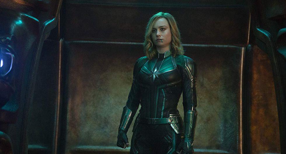 Capitana Marvel tuvo su película en solitario después de Avengers: Infinity War (Marvel)