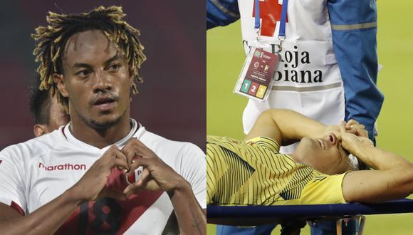 Santiago Arias sufrió terrible lesión en el duelo frente a Venezuela.