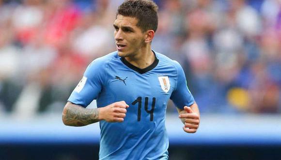 Lucas Torreira dio positivo al coronavirus y se perderá el choque con Barcelona. (Foto: AFP)