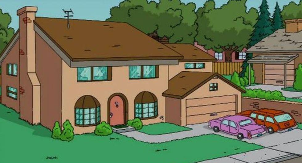 """¡Interesante! Usuarios encuentran la verdadera casa de """"Los Simpson"""" en Google Maps y no creerás cómo luce. (Foto: Fox)"""