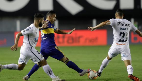 Santos venció a Boca 3-0 y jugará la final de la Copa Libertadores. (Foto: Conmebol)
