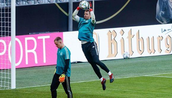 Ter Stegen no se calla, le responde a Neuer y 'enciende' la bronca en Alemania. (Getty)