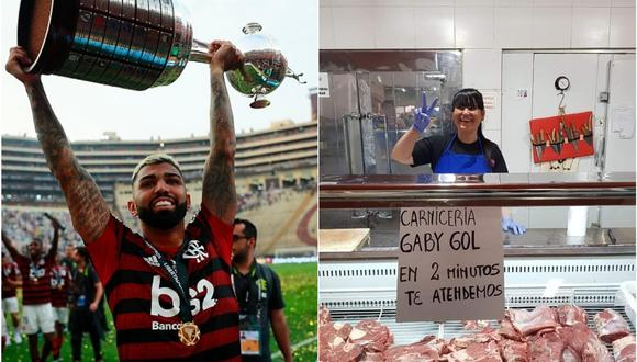 Gabigol marcó dos goles en la final de la Copa Libertadores 2019. (Getty / Olé)