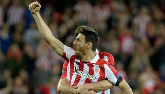 Aduriz anotó el gol del triunfo del Athletic club sobre el Barcelona en San Mamés. (Funete: ESPN)