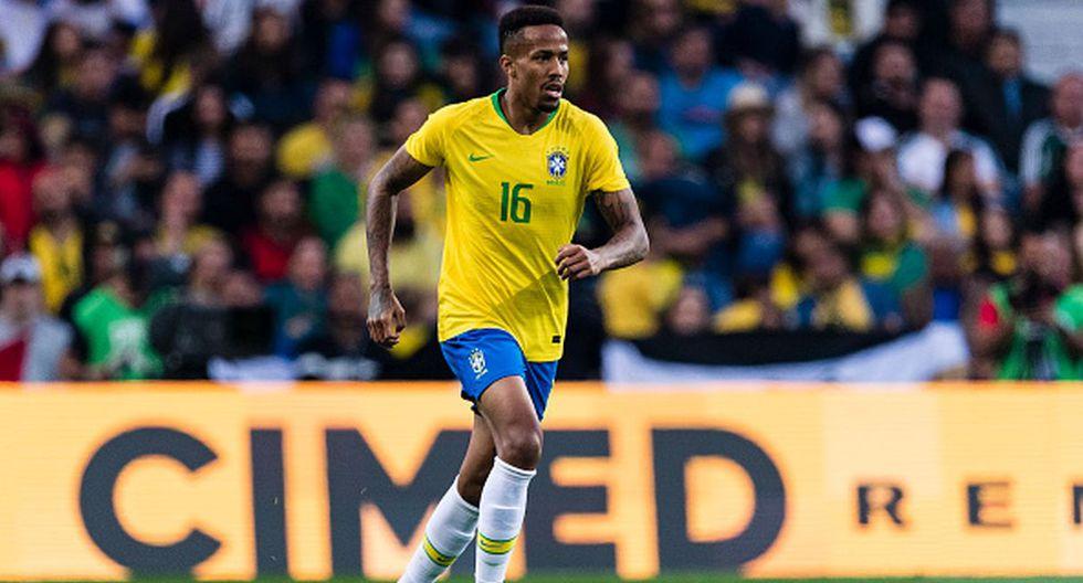 Perú vs. Brasil | Eder Militao en la selección brasileña (Foto: Getty Images)