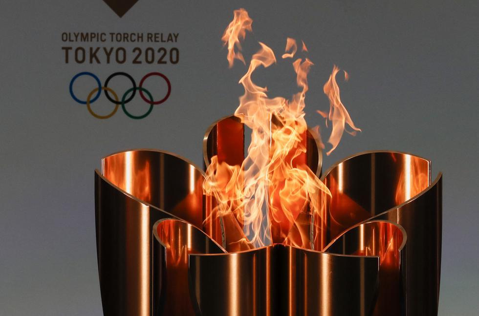 El relevo de la llama olímpica de Tokio 2020 es un paso fundamental para el inicio de los JO el 23 de julio pese a la reticencia de la población. (Foto: AFP)