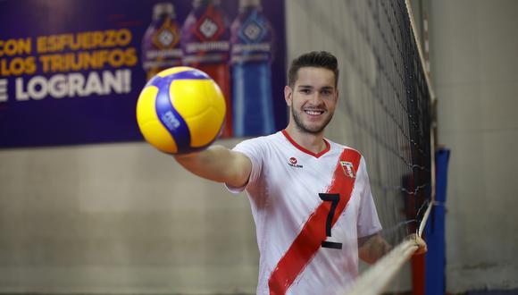Eduardo Romay fue el capitán de la selección de vóley que nos representó en los Juegos Panamericanos. (Foto: GEC)