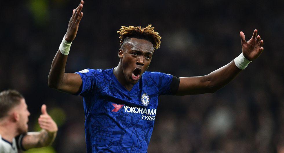 20. Tammy Abraham / Chelsea - 11 goles (22 puntos). (Foto: AFP)