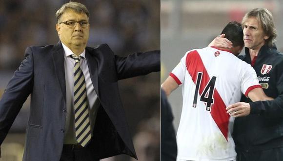 """Gerardo Martino: """"Seguramente Ricardo Gareca ya tiene decidido el tema Claudio Pizarro"""""""