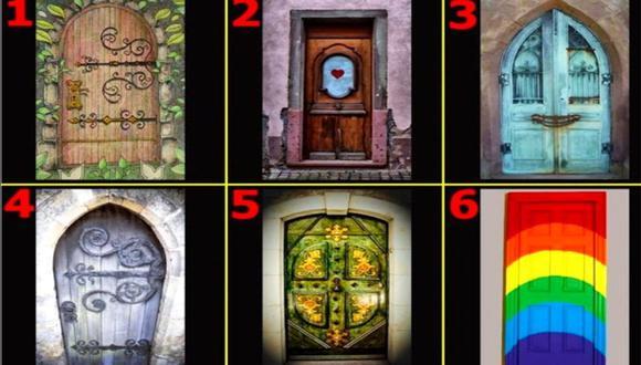 Elige la puerta que más te guste y descubre lo que oculta tu subconsciente.   Foto: namastest