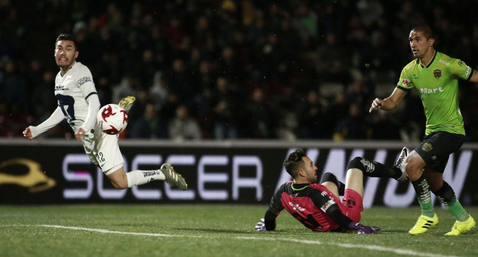 Festival de goles: Pumas y Juárez regalaron un partidazo por la Liga MX al empatar 4-4