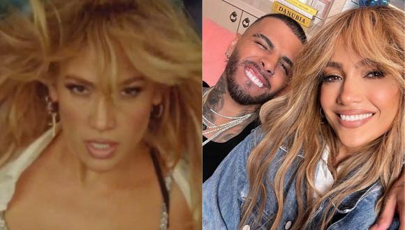 Jennifer Lopez reveló la fecha de estreno de su tema al lado de Rauw Alejandro. (Foto: @jlo/Captura de video)