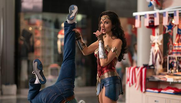 """Gal Gadot en una escena de """"Wonder Woman 1984"""". Foto: Warner Bros"""