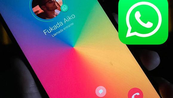 Conoce el método para cambiar de color tus llamadas en WhatsApp. (Foto: Depor)