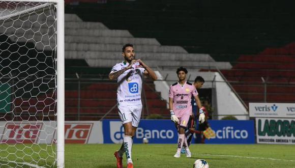 El artillero argentino viene de una buena temporada con Portoviejo. (Foto: Liga Pro)