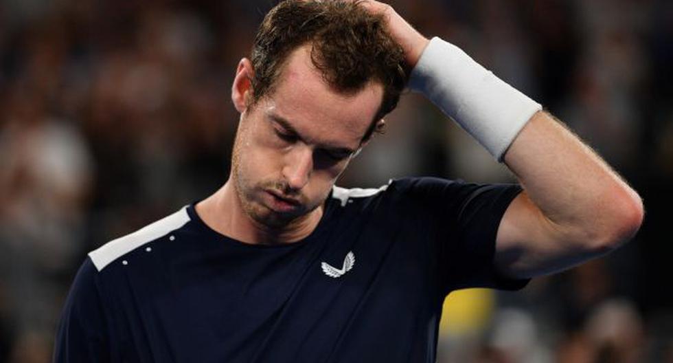 Andy Murray tiene coronavirus y es duda para el Abierto de Australia 2021