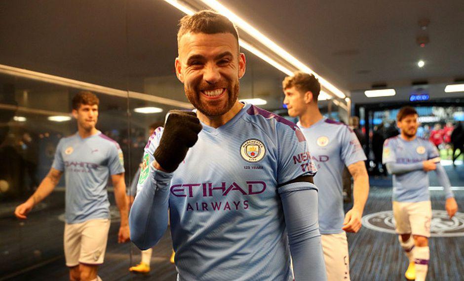 Nicolás Otamendi llegó al Manchester City en el 2015 procedente del Valencia. (Getty Images)